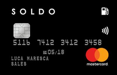 Carta di credito soldo