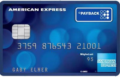 Carta di credito AmEx Payback